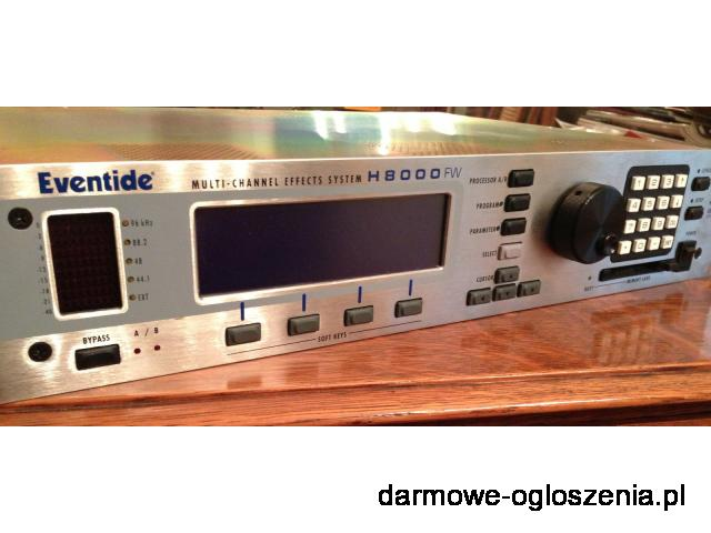 EVENTIDE H8000FW 8-CHANNEL ULTRA-HARMOZER EFFECTS PROCESSOR----$3700